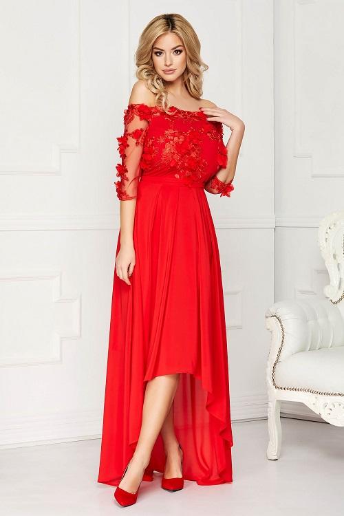 rochii starshiners rosii
