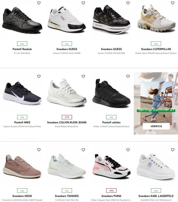 sneakers dama epantofi