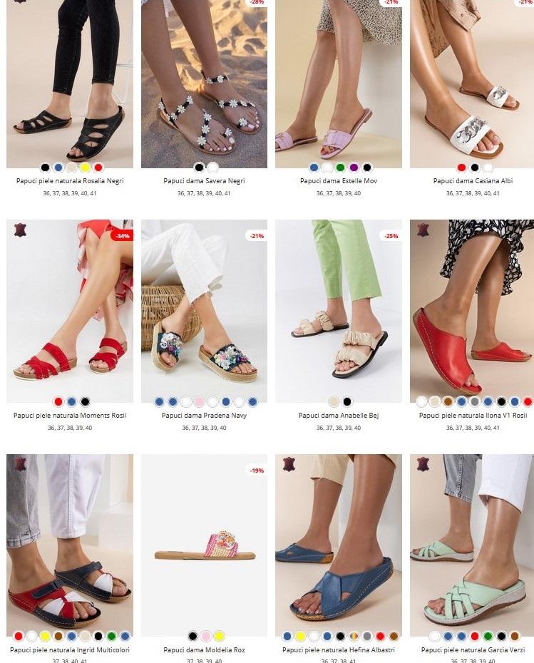Papuci fara toc